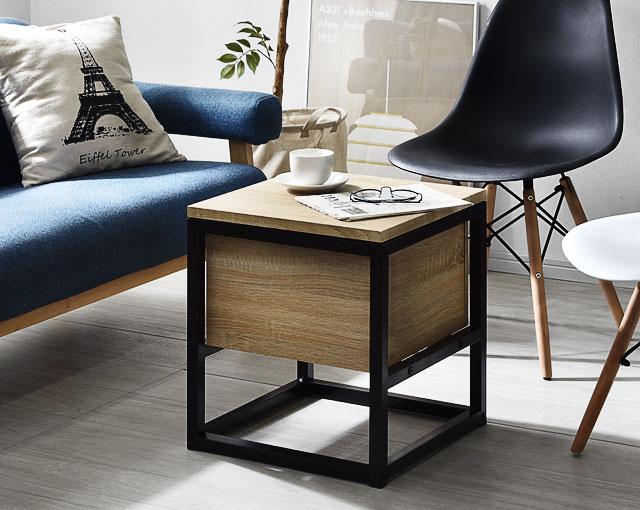 スツール イス 収納ボックス サイドテーブル テーブル