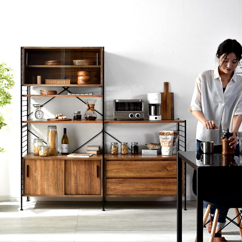 食器棚/カップボード set#002